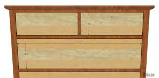plans to build a tall dresser bestdressers 2017