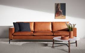 Raymour And Flanigan Natuzzi Sofas by Orange Sectional Couch Tags Awesome Orange Leather Sofa Fabulous