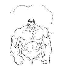 Download Coloring Pages Hulk Page Free Printable For Kids