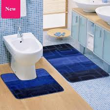 2 teile satz günstige hoheanti slip verdicken solide wc bad matte set u förmigen wc badezimmer teppich boden teppich banyo paspas