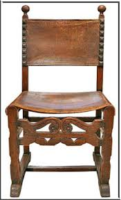 Chair In Spanish Furniture Style I Would Love To Have This Type Of Chairs As End And The Rest Modern For Dinning Room Rustic Table Or Some