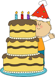 Cake clipart boy 1