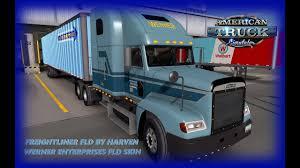 100 Werner Trucking Phone Number Enterprise FLD Skin By Lucasi ATS 13001 ATS Gameplay