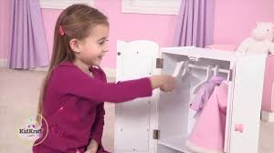 Girl's Lil' Doll Armoire Toy Review - YouTube Kidkraft Darling Doll Wooden Fniture Set Pink Walmartcom Amazoncom Springfield Armoire Journey Girls Toysrus 18 Inch Clothes Drses Our Generation Dolls Wardrobe Toys For Kashioricom Sofa Armoire Kidkraft Next Little Kidkraft 18inch New Littile Top Youtube Chair And Shop Baby Here