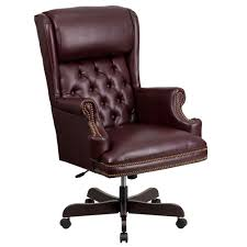 High Back Traditional Oversized Headrest Burgundy Leather Ergonomic Office  Chair High Back Black Fabric Executive Ergonomic Office Chair With Adjustable Arms Rh Logic 300 Medium Back Proline Ii Deluxe Air Grid Humanscale Freedom Task Furmax Desk Padded Armrestsexecutive Pu Leather Swivel Lumbar Support Oro Series Multitask With Upholstery For Staff Or Clerk Use 502cg Buy Chairoffice Midback Gray Mulfunction Pillow Top Cushioning And Flash Fniture Blx5hgg Mesh Biofit Elite Ee Height Blue Vinyl Without Esd Knob Workstream By Monoprice Headrest