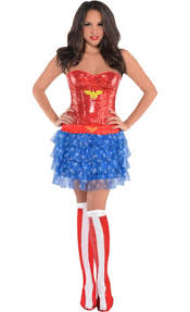 Halloween City Mcallen Tx Hours by Deluxe Wonder Woman Costume For Adults Party City