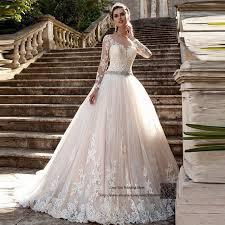 Arabic Wedding Dresses Turkey Vestido De Noiva Vintage Gowns Long Sleeve Lace Bride Dress 2017