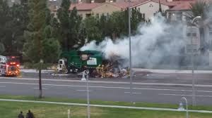 100 Craigslist Orange County Trucks Garbage Truck On Fire In Costa Mesa Anton Orangecounty