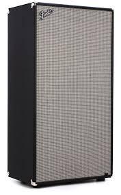 Fender Bassman Cabinet 1x15 by Fender Bassman 810 Neo 8x10