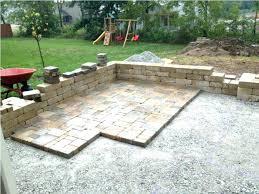 Diy Paver Patio Cost Cost Guide Patio Steps Backyard Brick Porch