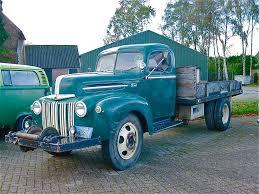 100 Custom Flatbed Trucks 1946 FORD 15 Ton Truck Seen On The Yard Of Noordh
