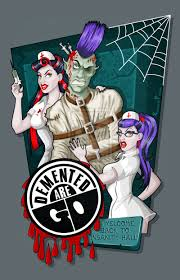 Silveyville Pumpkin Patch by Demented Are Go Back Patch Psychobilly