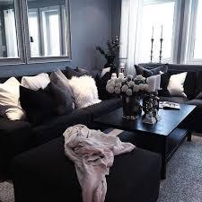wohnzimmer ideen schwarzes sofa ideen schwarzes