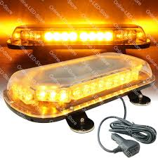 34W LED Emergency Vehicle Tow Towing Truck Strobe Warning Mini Light ...