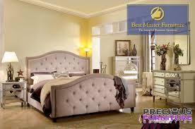 Master FRA2011 Silver Linen 4 Piece Bedroom Set