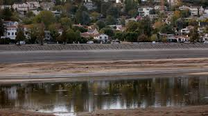 Silver Tip Christmas Tree Los Angeles by A Peaceful Lake Or The Next Santa Monica Pier Silver Lake