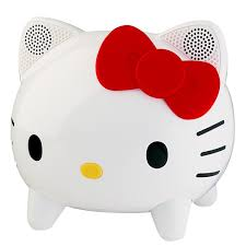 Hello Kitty Bathroom Set At Target by Amazon Com Hello Kitty Kt4559 Stereo Bluetooth Speaker System
