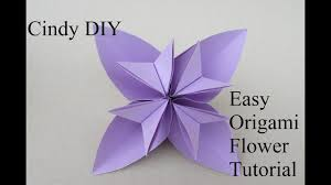 Flower Paper Craft Easy DIY For Children