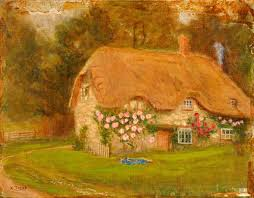 100 Gamekeepers Cottage Burderop Wiltshire Art UK