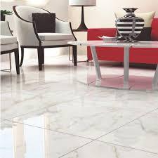 carrara white high gloss ceramic tile 24 x 24 100128834