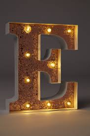 Small Marquee Letter Lights 23cm