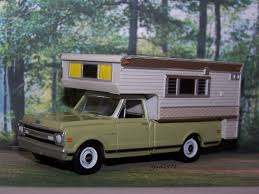 100 69 Chevy Truck Pictures 19 CHEVY C10 Camper Collectible Model 164 Scale