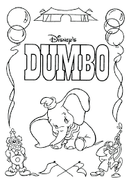 Coloring Pages Disney Cars Dumbo Images Halloween Pdf Online Mandala