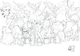 Pokemon Coloring Sheets Printable Pages Legendary All Stunning
