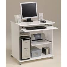 city bureau informatique classique l 76 cm blanc mat achat