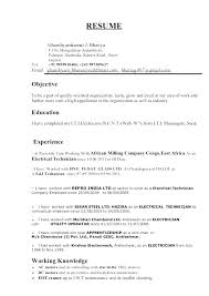 Electrical Technician Resume Sample Electrician Unforgettable Apprentice Maintenance