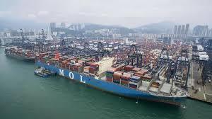 le plus grand porte conteneurs au monde attendu lundi au havre
