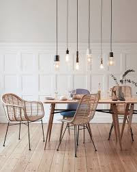 77 Gorgeous Examples Of Scandinavian Interior Design Dining Room With Minimalist Light Feature