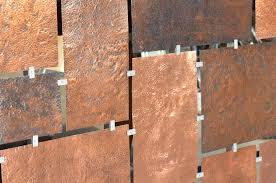 Hand Made Custom Hammered Copper Wall Art By Fabitecture