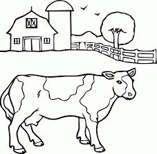 Coloriage Vache Img 17792
