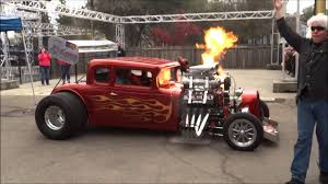 Flame Throwing 1931 Chevy Coupe