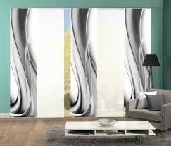 gardinen vorhänge 245x60 cm blickdicht farbe grau set