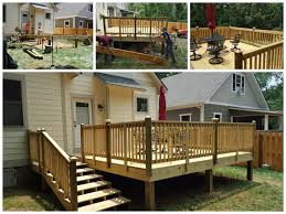 Cleaning Decking With Oxygen Bleach by Fence U0026 Deck Contractor U2013 Asheville Nc