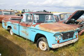 A Photo Tour Of The Junkyard Trove Known As Rustless In Montana ... 1963 Doge Power Wagon W300 Greenlight Running On Empty Series 1 Dodge D100 Gulf Oil Truck The Classic Pickup Buyers Guide Drive 500 Tow Taubers Amoco Karl Schwarz Flickr My Project Truck Dodge D200 Crew Cab Cars Motorcycles Unforgotten Hot Rod Network Lineup Pinterest Trucks D Series Wikipedia 2005 Ram 2500 Photos Specs News Radka Blog 6 Folder Dodge Ta Grain Truck For Sale Classiccarscom Cc1127677