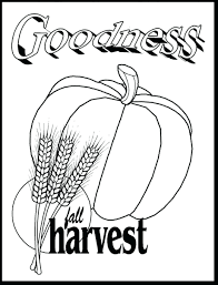 Pumpkin Patch Coloring Page Fruit Spirit Pages Kindness Charlie Brown Parable Free Printable Large Size