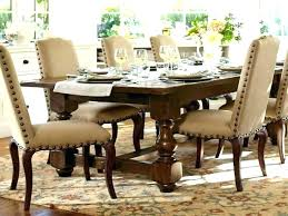 Pottery Barn Dining Room Table Chairs Round