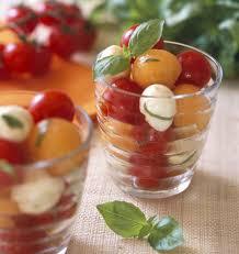 meilleures recettes de cuisine salade de melon tomates et mozzarella les meilleures recettes de