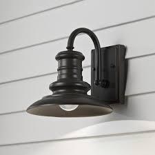 brayden studio colunga 1 light outdoor barn light reviews wayfair