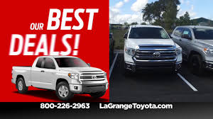 Get The Best Deals On Trucks During Toyota Time At LaGrange Toyota ... Augusts Best Fullsize Truck Fancing And Lease Deals Write 12000 Off F150 Labor Day Car Deals Fox News Drive The New Pickup Car Leasing Concierge Wheel And Tire Package For Trucks Resource Truck Lease 0 Down Motor Diessellerz Home Maguire Auto Blog Antelope Valley Ford Lincoln Dealership Of The Get Best Dealspurchase Affordable Trucks Trailers Car Update 20