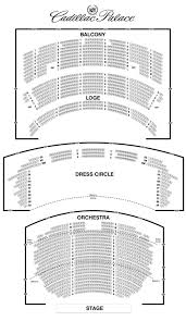 Oriental Theatre Chicago Seating Guide