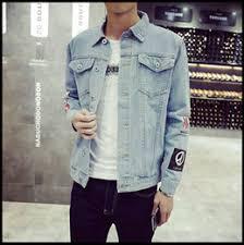 Mens Denim Jacket High Quality Fashion Jeans Jackets Slim Casual Streetwear Vintage Jean Clothing