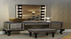 Vanity Set With Lights For Bedroom by Bedroom Makeup And Vanity Set Desk With Mirror For Makeup