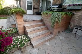 Ipe Deck Tiles Toronto by Ipe Deck Patio Raised Garden Bed Hobsonlandscapes Com