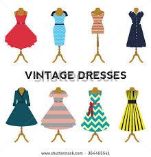 Dress Clipart Retro 7