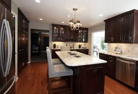 Kitchen Design Ideas Dark Cabinets And This Astounding Small Remodel With Brown