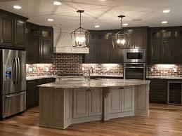 Kitchen Backsplash Ideas With Dark Wood Cabinets by Best 25 Dark Kitchen Cabinets Ideas On Pinterest Dark Cabinets